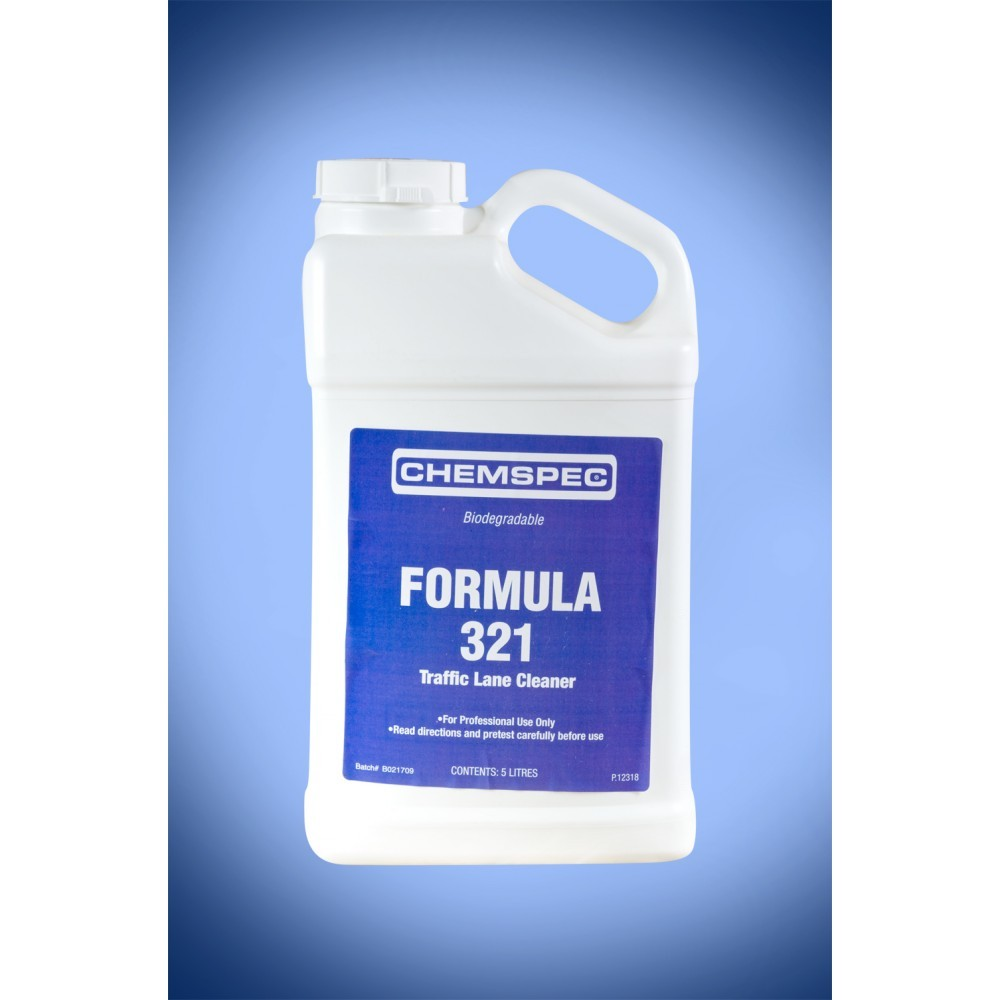 Formula 321 Traffic Lane Cleaner