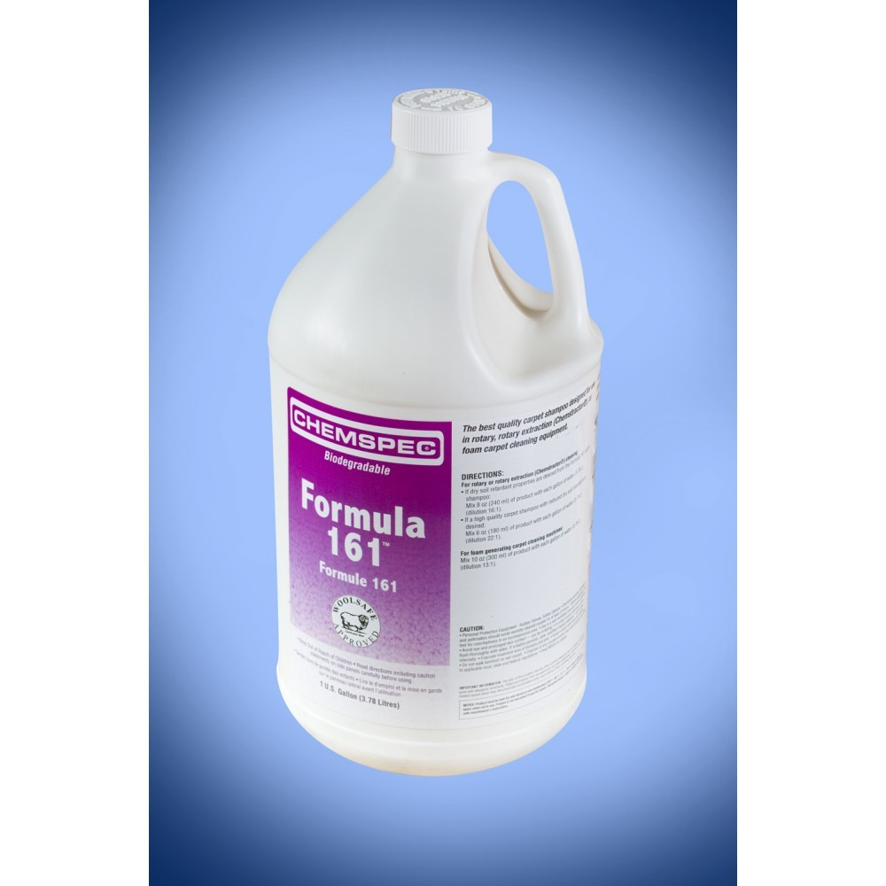 Formula 161 Soil-Retardant Shampoo